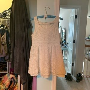 Forever 21 White Lace Dress, size L